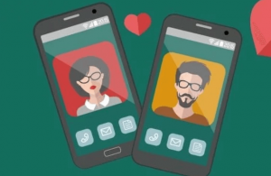 Using online dating applications for love